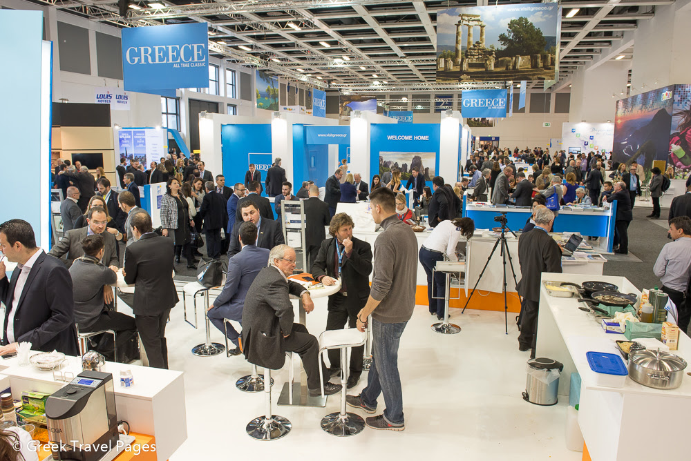 ITB Berlin 2015 busy 1st day for Greece