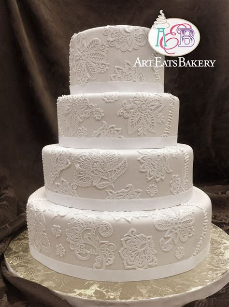 Art Eats Bakery custom fondant wedding and birthday cake