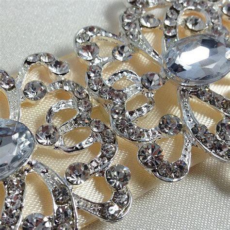 WEDDING CARD & BOXES CRYSTAL EMBELLISHMENTS   Luxury