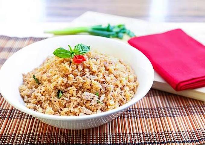 Resep Mudah Resep Nasi Goreng Tuna Spicy Tanpa Tanding