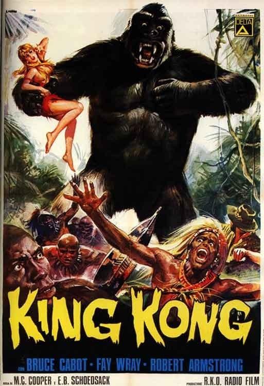 Resultado de imagem para king kong 1933 poster