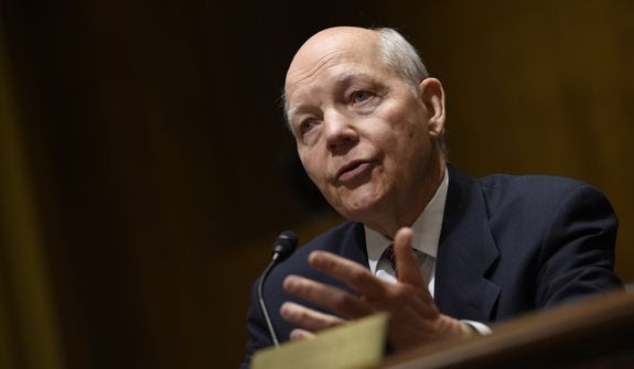 Internal Revenue Service Commissioner John Koskinen said the IRS was logistically incapable of performing the email search requested by Congress because it would have required combing through 90,000 email accounts. (Associated Press)