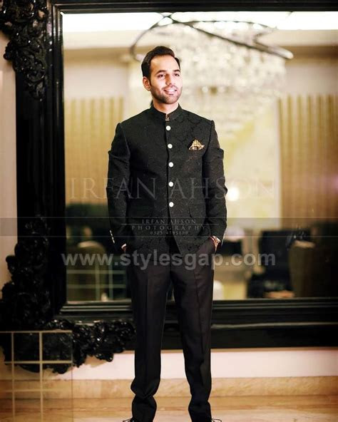 latest men wedding dresses mehndi barat walima collection