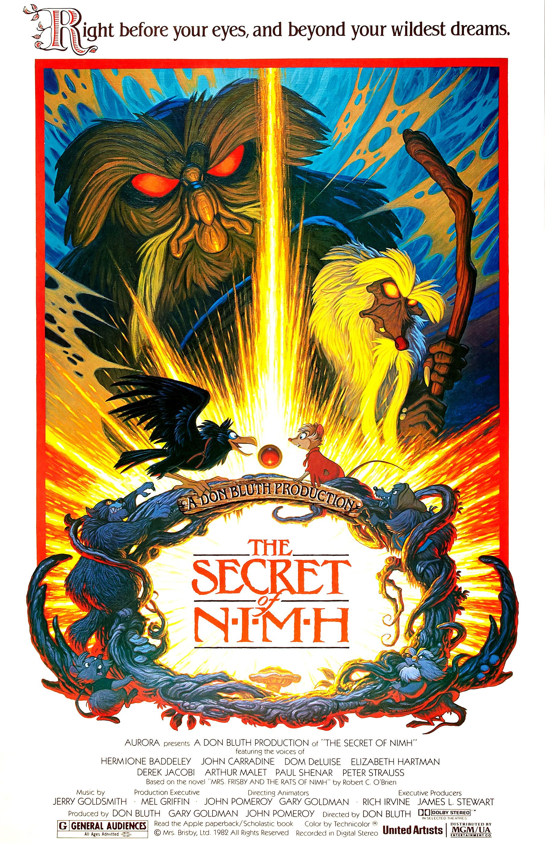 Tim Hildebrandt - The Secret of NIMH (MGM/UA, 1982)