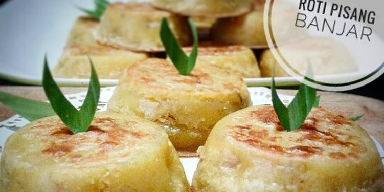 Resep 17. Roti Pisang Banjar (versi Oven) #BikinRamadanBerkesan Oleh Nana Hanif
