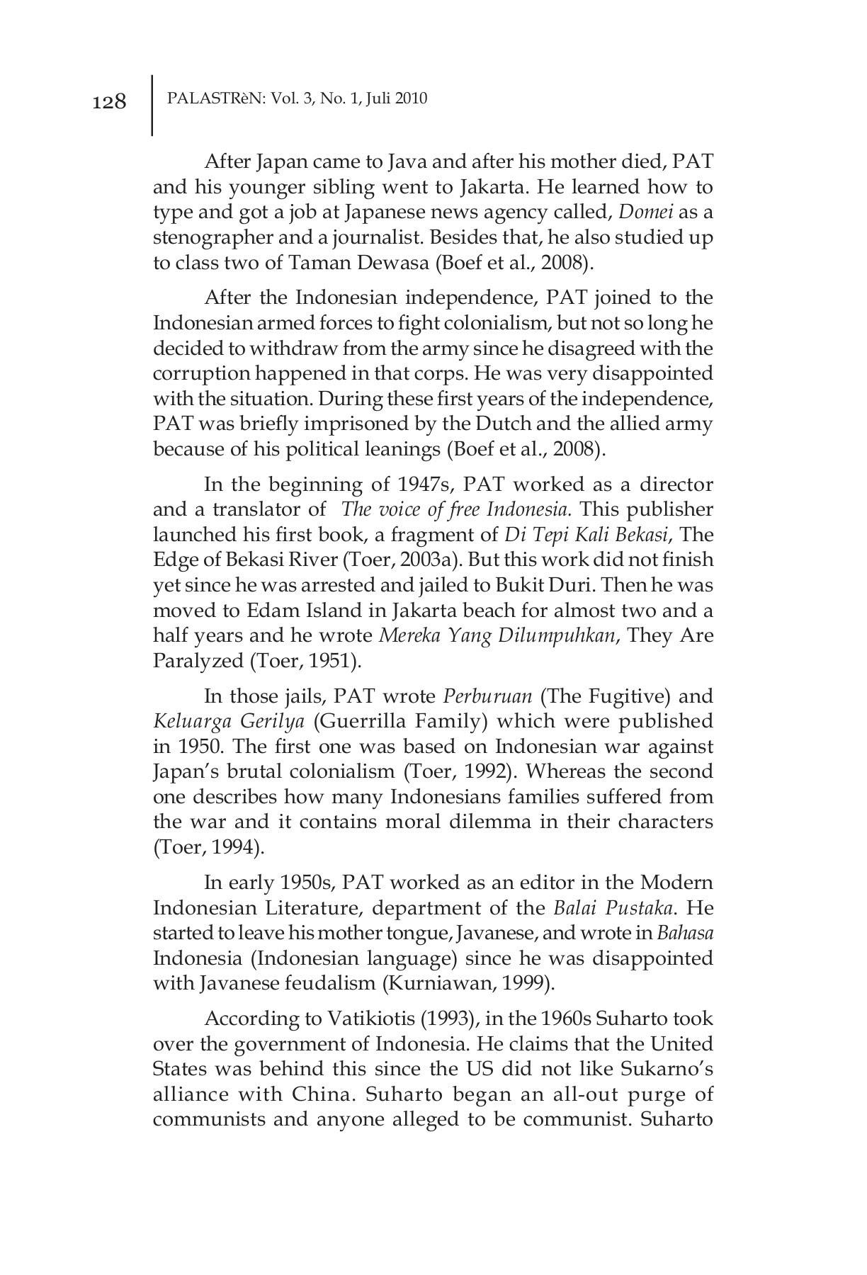 Palastren Volume 3 No 1 Juli 2010 Pages 151 200 Text Version