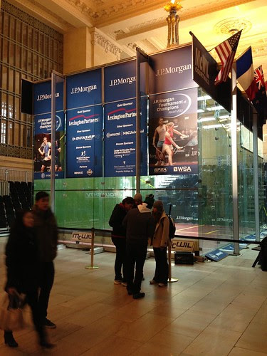 Squash court, Grand Central Terminal