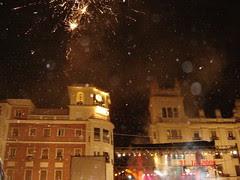 Sambutan Tahun Baru di Plaza de las Tendillas, Cordoba, Spain
