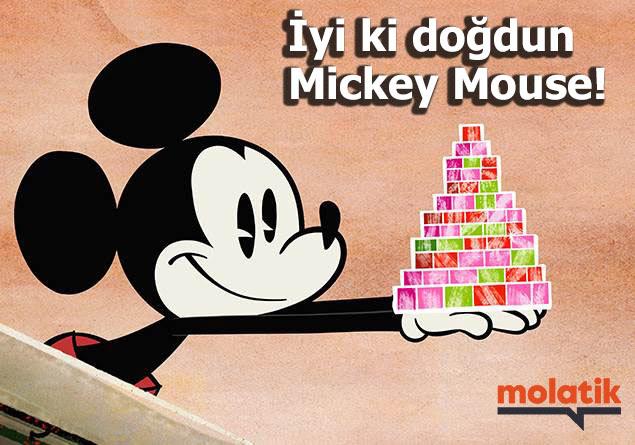 Mickey Mouseun Doğum Günü Ne Zaman