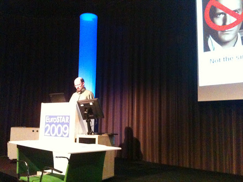 Michael Bolton...Burning issues at EuroSTAR 2009