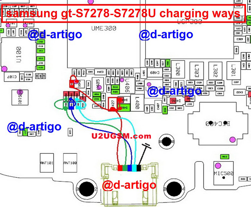 Samsung Galaxy Ace 3 S7278 Usb Charging Problem Solution Jumper Ways