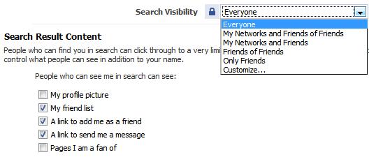 Privacy Search