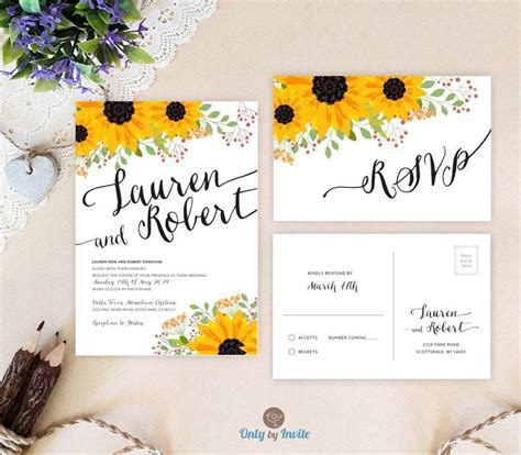 30 Beautiful Sunflower Wedding Ideas   Wedding Stationery