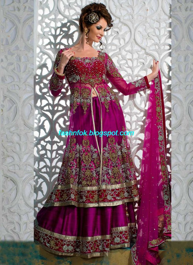 Beautiful-Cute-Girls-Wear-Bridal-Lehenga-Choli-New-Fashion-Dress-Design-2013-7