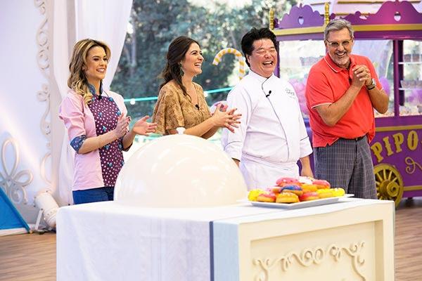 Beca Milano, Carol Fiorentino, Roberto Shimura e Fasano