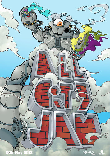 All City Jam 2013 by OMIN FOES