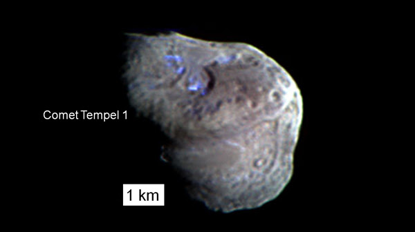 Comet Tempel 1