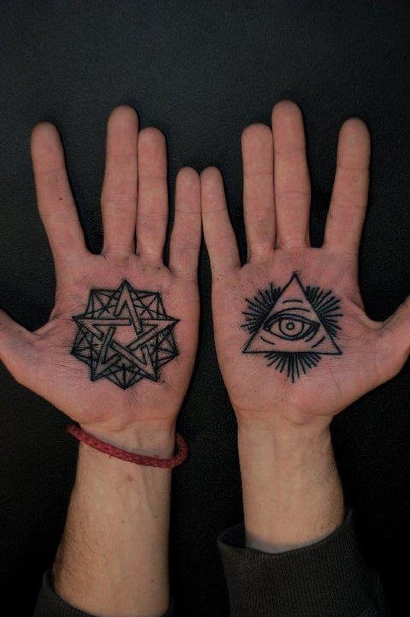 Eye Tattoo On Palm Tattoos Book 65000 Tattoos Designs