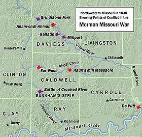 Mormon Missouri 1838