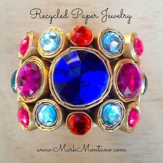 Mark Montano: Recycled Paper Jewelry DIY