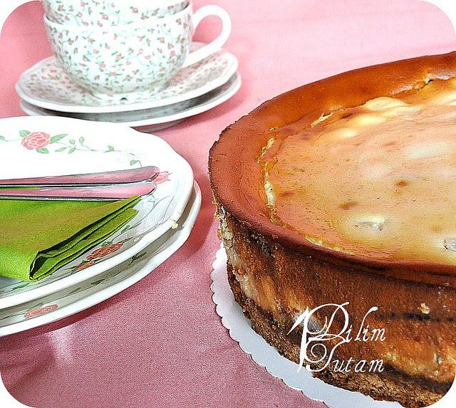 elmali cheesecake