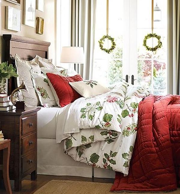 20 Christmas Bedroom Decoration Ideas