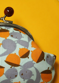 Squirrely Pouch Detail