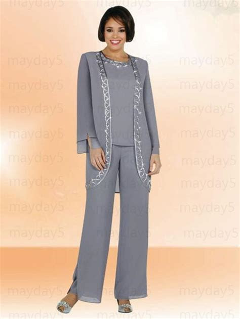 2016 New arrival Mother Of Bride Pant Suits With Jackets
