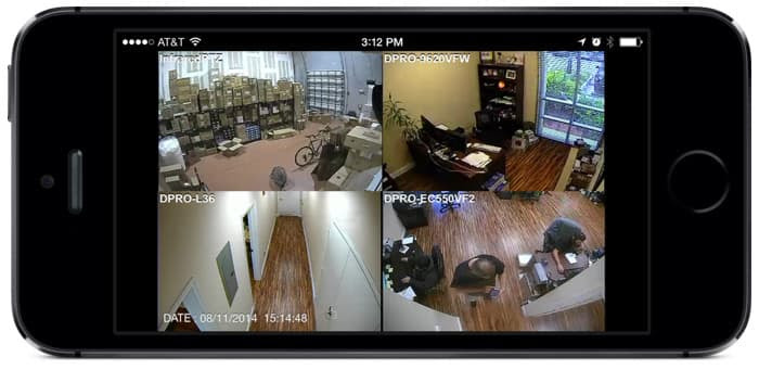 Remote Access To View Security Cameras From Iphone App Not Working