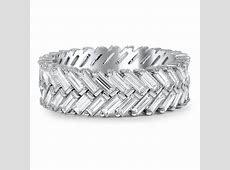 Custom Chevron Diamond Baguette Ring   Brilliant Earth