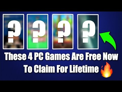 These 4 PC Games Are Free Now To Claim For Lifetime😱