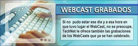 webcasts de microsoft en español