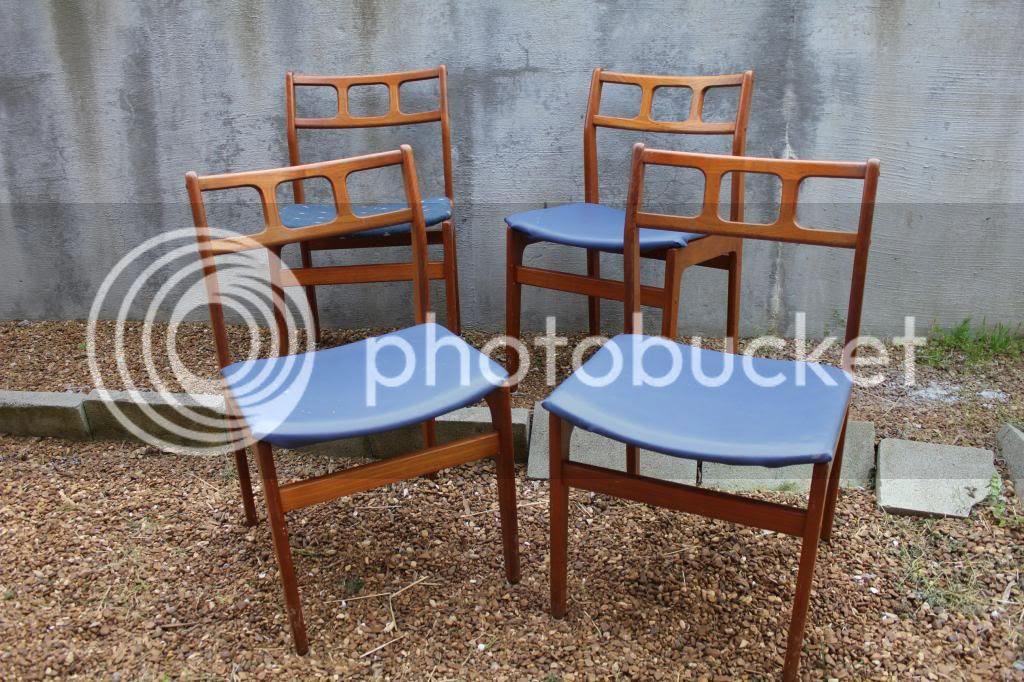 Mid Century Modern Kitchen Chairs
