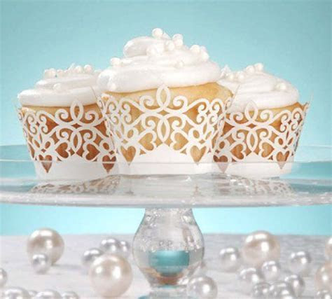 34 Best images about Wedding cupcake wrappers on Pinterest
