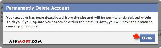 لینک حذف اکانت فیس بوک--3