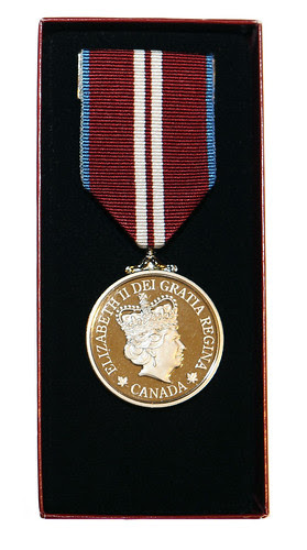 Diamond Jubilee Medal by Megan Lorenz