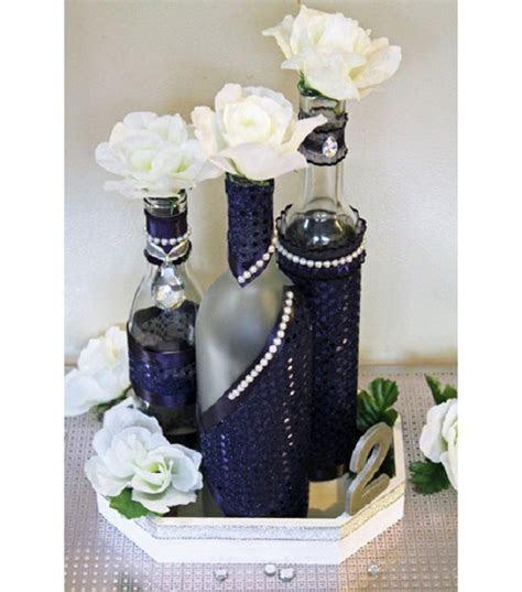 Try Stylish Wine Bottle Decorations