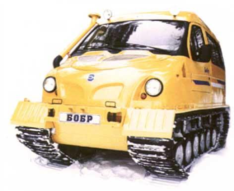 Veículo utilitário de neve