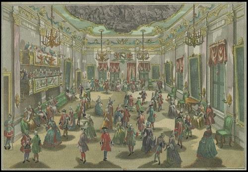 Representation d'un Bal de Noblesse