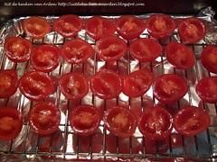 Quiche met gerookte tomaten en serranoham