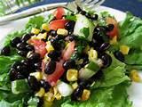 Black Bean Salad Recipes Pictures
