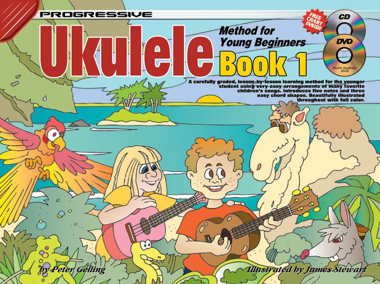 ukulele method for young beginners book 1 how to play ukulele for kids