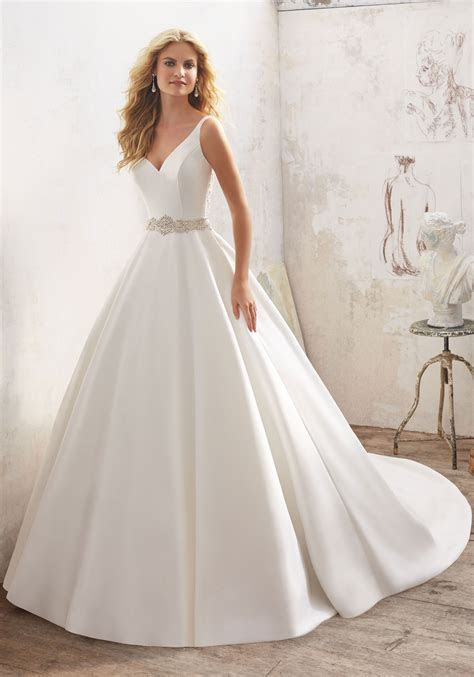 Maribella Wedding Dress   Style 8123   Morilee
