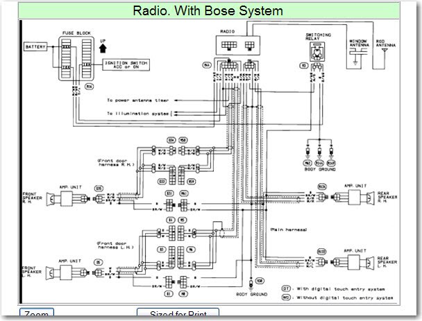 Radio Wiring Diagram Nissan Serena 4x4 S10 Wiring Diagram Begeboy Wiring Diagram Source