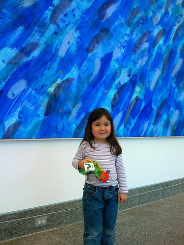 In the Eric Carle museum