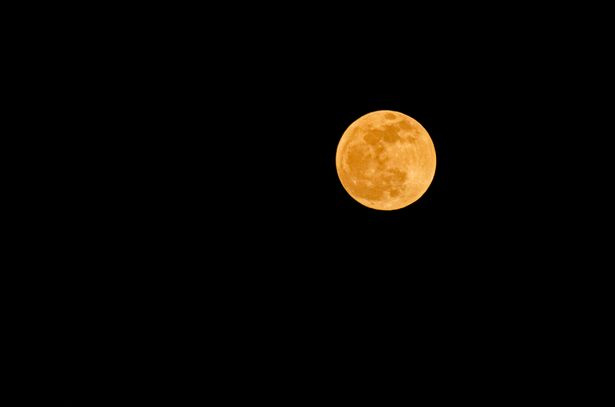 A penumbral lunar eclipse occurred at night on September 16, 2016 in Pekanbaru, Indonesia