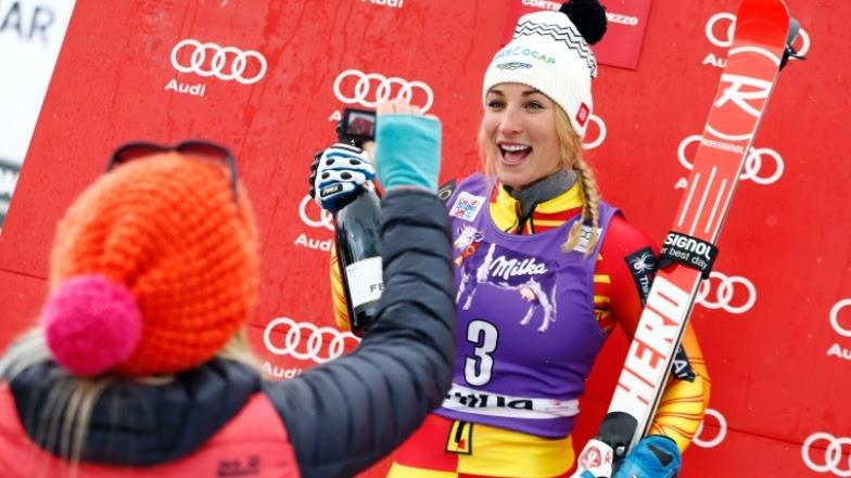 Yurkiw sur le podium