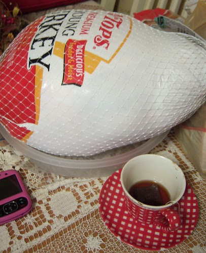 tea and turkey!