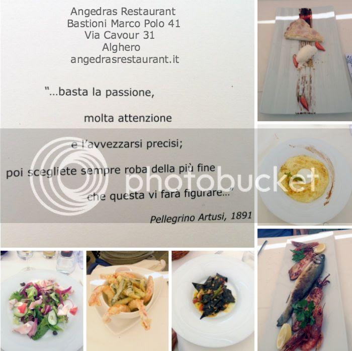 Alghero Restaurante Angedras