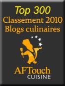 top 300 blog culianires